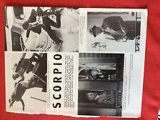 m6-9c ephemera 1970s film 1 page scorpio alain delon burt lancaster