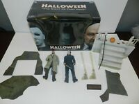 NECA Halloween The Night He Came Home Complete in Box Meyers Dr Loomis Boxed Set