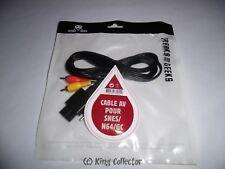 Accessoire - Super Nintendo - Cable AV pour Game Cube/ Nintendo 64 / SNES