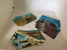Lot of 30 Vtg. New Mexico Postcards Yucca, St Francis of Assisi, State Capitol