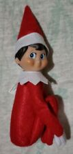"Elf On The Shelf Blue Eyed Boy Soft Plush Christmas Doll 12"""