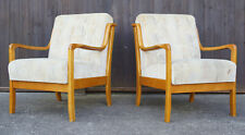 60er Sessel Lounge Easy Chair Danish Holz Mid-Century Vintage 70er 1/2
