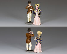 KING & COUNTRY WORLD OF DICKENS WOD048 THE COFFEE COUPLE MIB