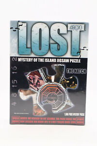 NEW LOST #1 of 4 Mystery of the Island Jigsaw Puzzle The Hatch 1000 pc Sealed