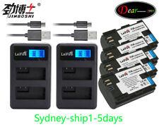 LCD+2xLPE6 Battery For Canon EOS 5D Mark II 70D 60D 60Da LP-E6 Mark III 5D 6D 7D