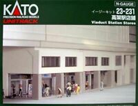 Kato 23-231 Viaduct Station Shops (N scale)
