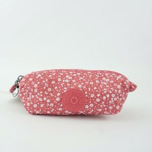 KIPLING ANTHONY Nylon Pouch Dainty Daisies Pink