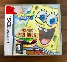 Spongebob Schwammkopf: Frantic Frittieren (Nintendo DS Spiel) ** schneller Kostenloser Versand **