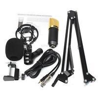BM700 Dynamic Microphone Mic + Studio Suspension Boom Scissor Arm Stand Holder