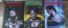 Patricia Briggs 3 First Edition Hardcover Book Lot Mercy Thompson Vol 10 11 12