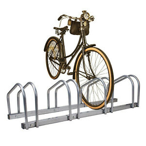 Cycle Bike Steel Pipe Parking Stand Rack (2, 3, 4 & 5 ) Floor Storage