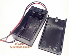 9V Battery Holder Box Case with Wire Lead ON/OFF Switch