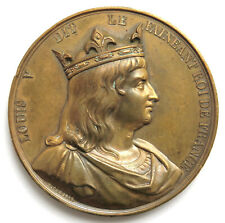 Medaille 1838, Frankreich, Auf Louis V., Sign. Caqué