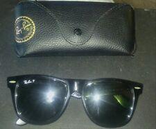 Large Ray Ban Wayfarer Polarized Sunglasses