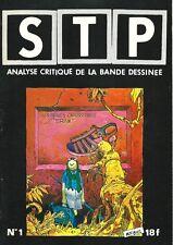 RARE EO REVUE S.T.P N° 1 ANALYSE CRITIQUE DE LA BANDE DESSINÉE ( NEAL ADAMS )