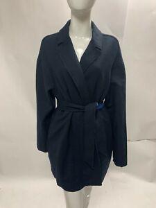 Ladies Tommy Hilfiger Wool Blend Wrap Coat - Size M/L - BNWT
