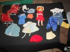 Vintage doll clothes lot