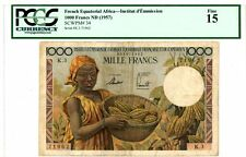 French Equatorial Africa ... P-34 ... 1000 Francs ... ND(1957 ... *F-VF*