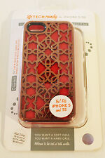 Tech Candy Iphone 5/5S Dual Protection Phone Case Rose Gold/ Raspberry/ Cloud