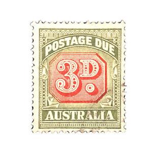 AUSTRALIA 1946 POSTAGE DUE 3D MH J74 Stamp
