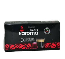 30 Capsules Compatible Nespresso Machine!  (Dark Roast) 2-3 Day Delivery!
