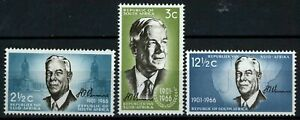 South Africa 1966 SG#266-8 Verwoerd Commemoration MNH Set #E32429