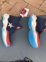 ZARA BOYS marvel captain America hi-top sneakers 4.5jnr EUR 37