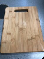 12x Bamboo Cutting Board Chopping and Serving Board 12.5 x 9 Inch Antibacterial