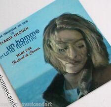 """BEAUTIFUL ANOUK AIMEE COVER 1966 ORIGINAL UN HOMME ET UNE FEMME 7"""" VINYL V.RARE"""