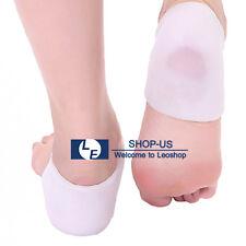 New 2pcs Silicone Gel Heel Socks Cracked Foot Moisturizing Skin Care Protector