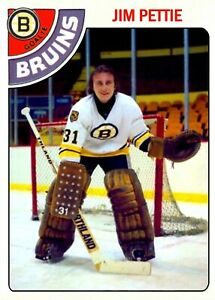 1978-79 Topps CTNW #297 Jim Pettie Boston Bruins Custom Card