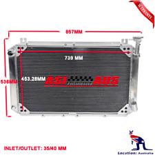 3Row Radiator For 88 89 90-97 Nissan Patrol GQ GR Y60 4.2L TB42S&TB42E PETROL MT