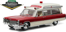 GREENLIGHT 1:18 PRECISION COLLECTION 1966 CADILLAC S AND S 48 HIGH TOP AMBULANCE