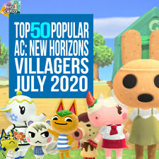 Animal Crossing New Horizons NFC Amiibo Cards - Most Popular Villagers!