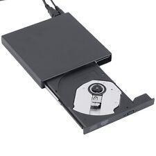 New USB 2.0 External DVD Combo CD-RW Burner Drive CD¡ÀRW DVD ROM Black FH3