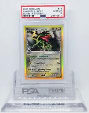 Pokemon EX DELTA SPECIES RAYQUAZA #13 HOLO FOIL RARE CARD PSA 10 GEM MINT *