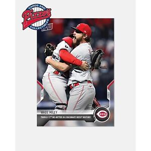 Wade Miley Reds No-Hitter - 2021 MLB TOPPS NOW Card 182 Presale