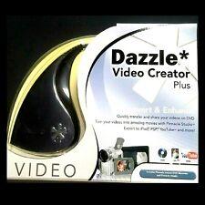 Dazzle Video Creator Plus - DVD Converter VHS RCA Pinnacle Software Home movies