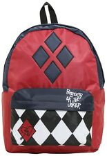 DC Comics Suicide Squad Harley Quinn Property of the Joker Backpack Book Bag New