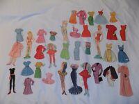 Vintage Barbie & Skipper Paper Dolls
