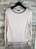 Mint Velvet Ladies Size 12 Knit Jumper Top Cotton Cashmere