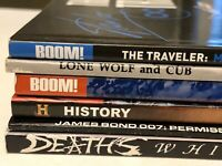 TPB LOT Boom! Stan Lee Irredeemable Death James Bond 007 graphic novels books GN