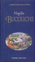 VIRGILIO BUCOLICHE testo LATINO a fronte poesia omossessuale CARTONATO
