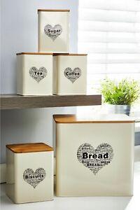 Cream 5-Piece Heart Storage Set