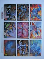 1995 FLEER *MARVEL MASTERPIECES SERIES 4* COMPLETE 151 CARD BASE SET  HTF