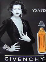 PUBLICITÉ 1996 LE PARFUM POUR FEMME GIVENCHY PARIS - ADVERTISING