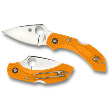 Spyderco Dragonfly 2 Orange Plain Blade C28POR2