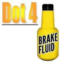 5L DOT4 Brake Fluid 5 Litre DOT 4 J-1704 For Volvo Xc90 2002-2016