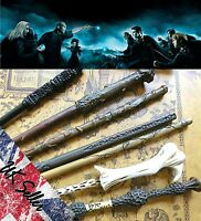 New Harry Potter/Dumbledore/Snape/Hermione/Voldemort/Ron Magic Wand In Gift Box