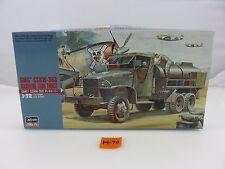 Hasegawa GMC CCKW-353 Gasoline Tank Truck 1/72 Scale Plastic Model Kit UNBUILT